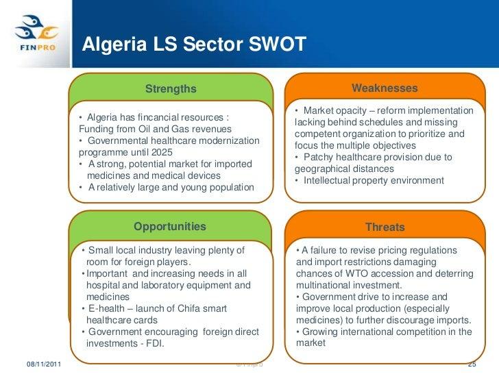 Algeria Health Sector Overview Heli Pasanen Zentz Finpro