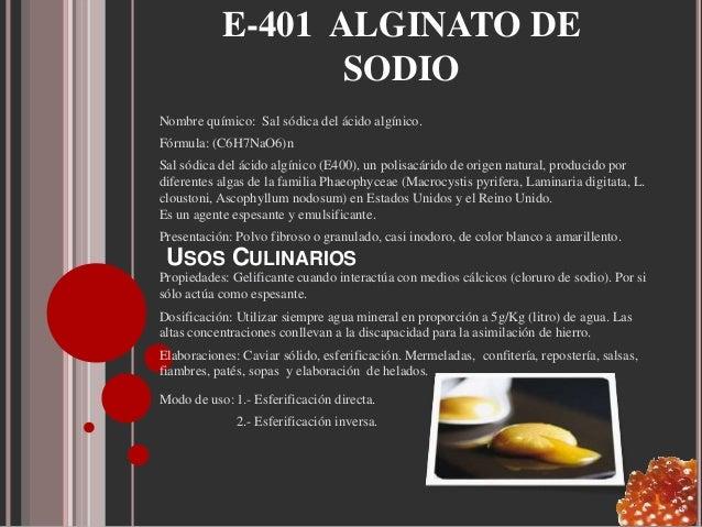 alginato ingredientes para una cocina vanguardista high