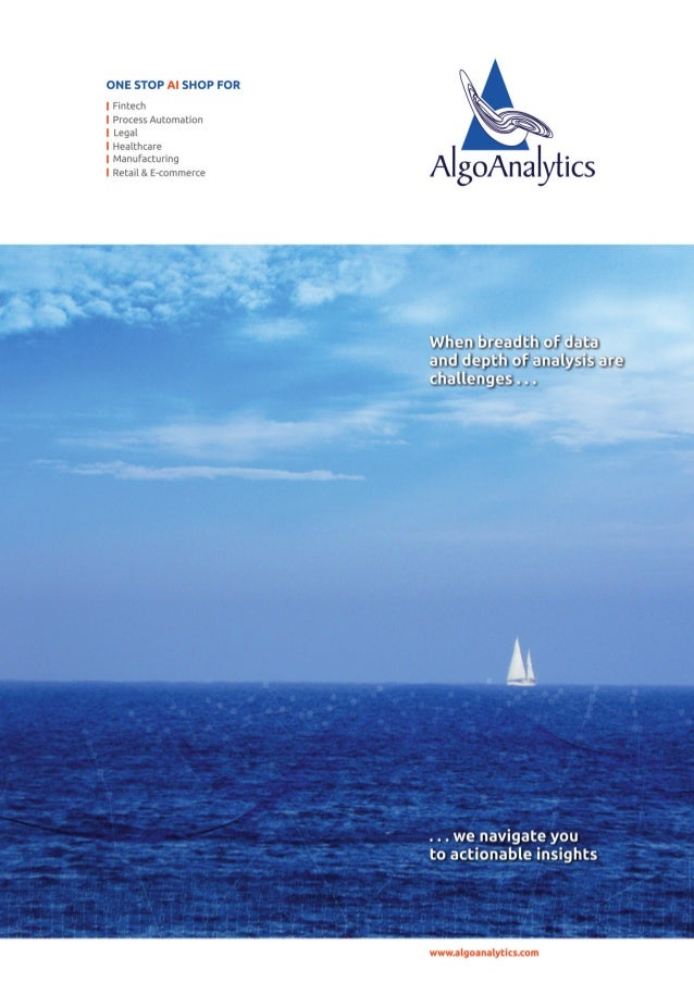 AlgoAnalytics Brochure