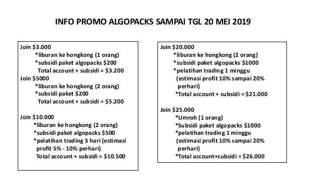 Algopacks Presentation