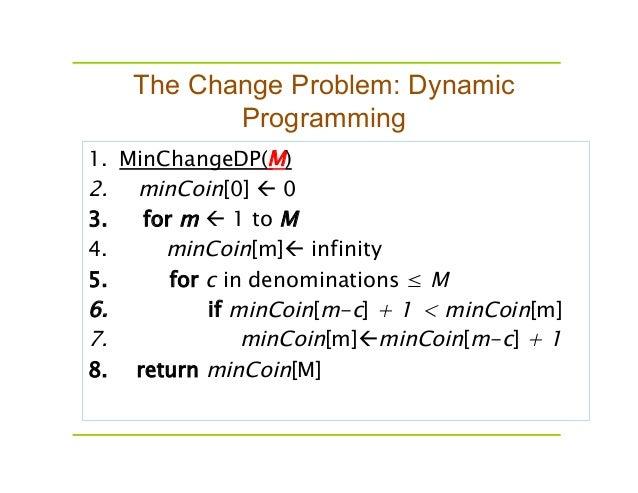 Coin Change Problem