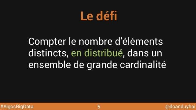 Algorithmes distribues pour le big data @ DevoxxFR 2015 Slide 5