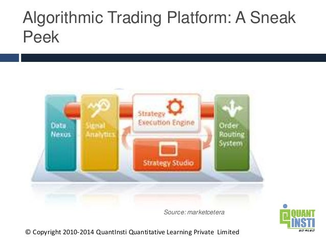 Algorithmic trading and quantitative strategies stanford