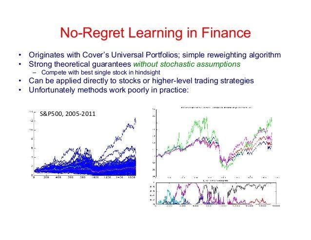 Machine learning option trading