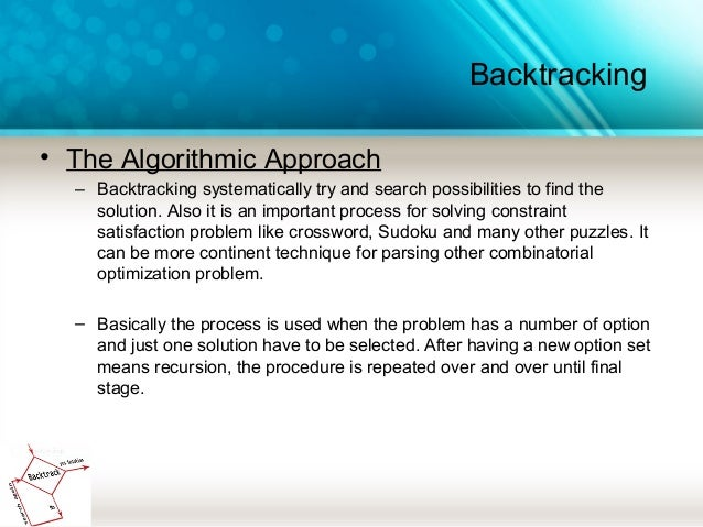 Sudoku Solver | Backtracking Search Algorithm to Solve ...