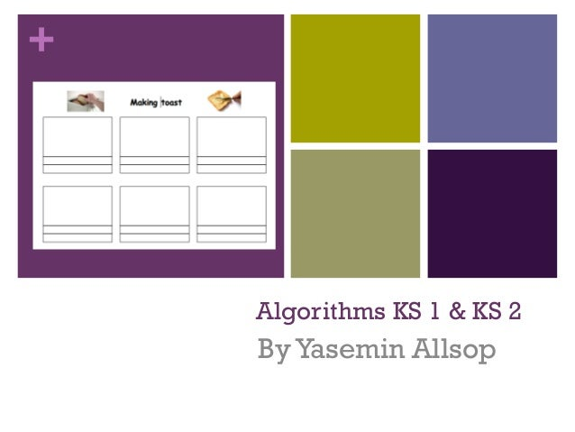 + Algorithms KS 1 & KS 2 ByYasemin Allsop