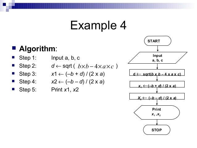 Algorithms and flowcharts1