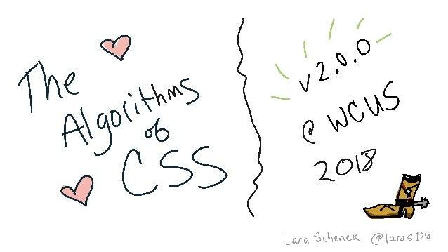 Bridging the Design to Development Gap with CSS Algorithms (Algorithms of CSS v2.0 @ WordCamp US) Slide 2