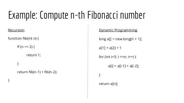 Algorithms practice and problem solving dynamic programming.