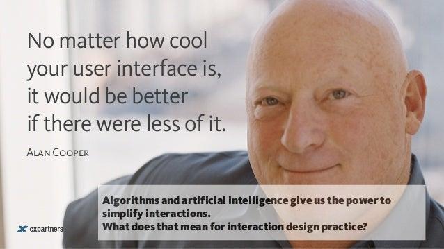 Interaction designers vs algorithms Slide 2