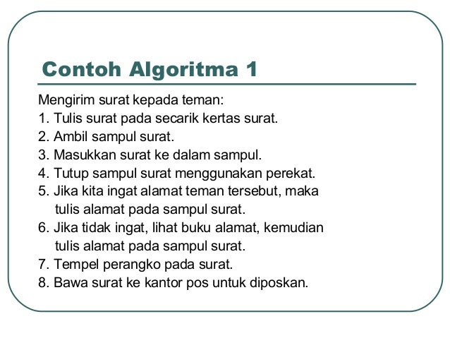Algoritma Pemrograman A 2
