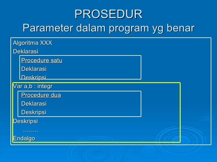 Contoh Flowchart Prosedur Dan Fungsi Contoh Ti