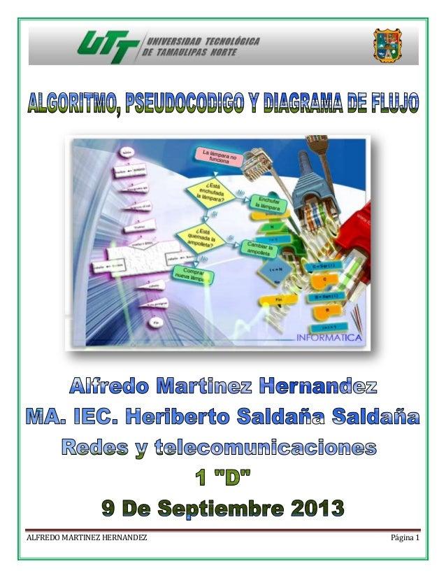 ALFREDO MARTINEZ HERNANDEZ  Página 1