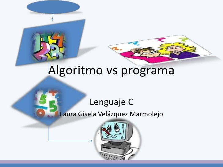 Lenguaje C<br />Laura Gisela Velázquez Marmolejo<br />Algoritmo vs programa<br />