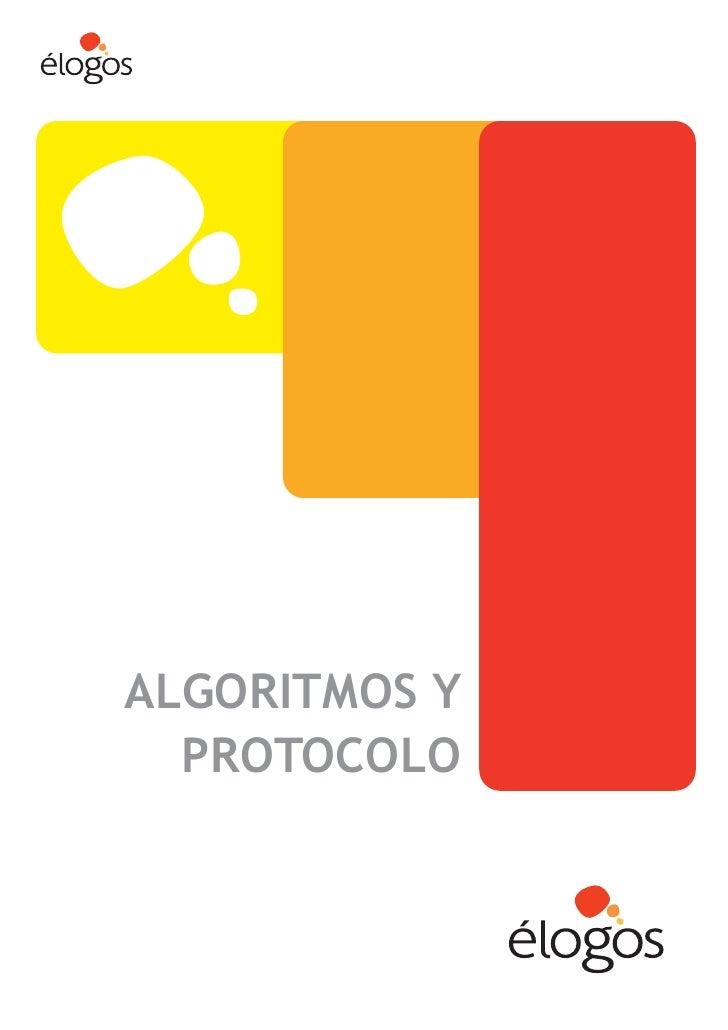 ALGORITMOS Y   PROTOCOLO