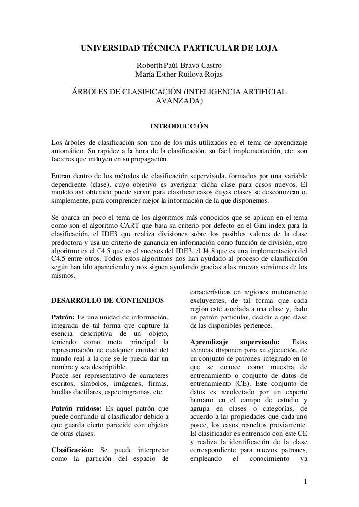 UNIVERSIDAD TÉCNICA PARTICULAR DE LOJA                              Roberth Paúl Bravo Castro                             ...