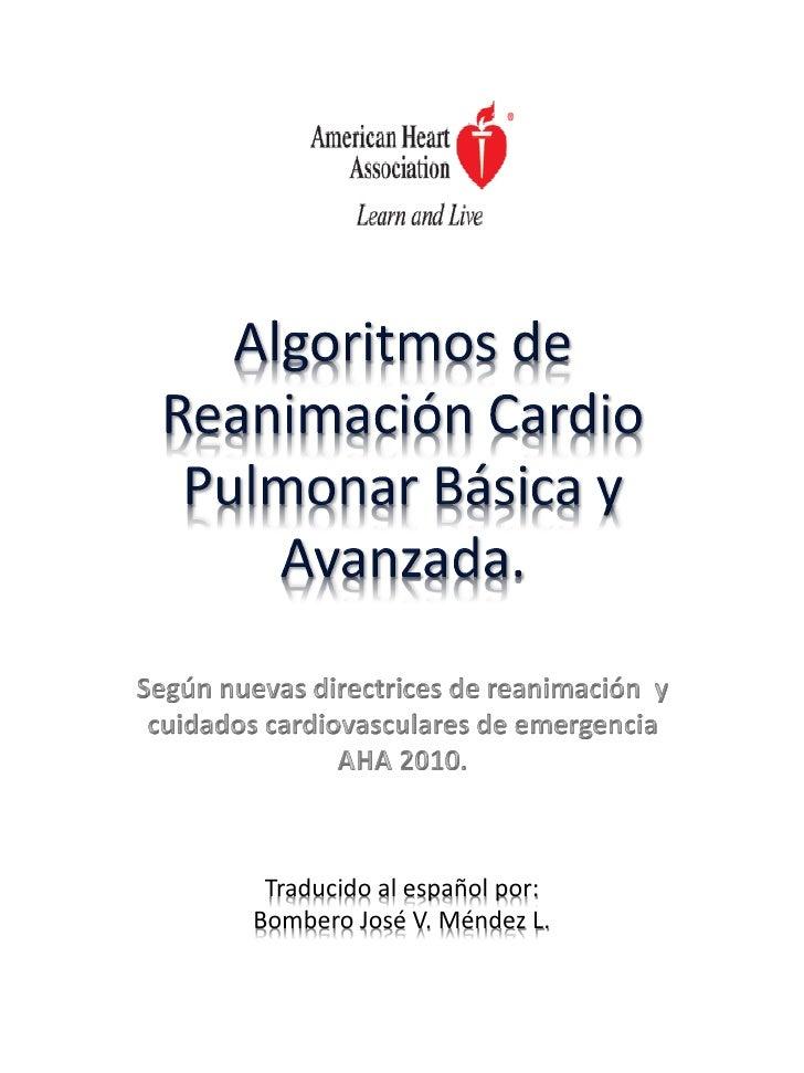 Traducido al español por:Bombero José V. Méndez L.