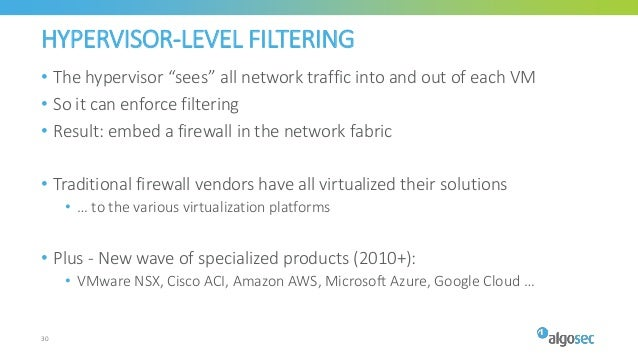 25 years of firewalls and network filtering - From antiquity