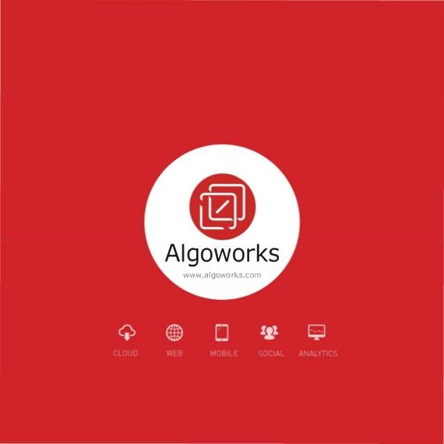 Algoworks www.algoworks.com
