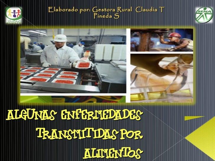 Elaborado por: Gestora Rural Claudia T               Pineda S