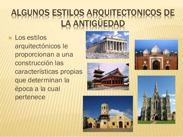 algunos estilos arquitectonicos de la antig edad On estilos arquitectonicos contemporaneos