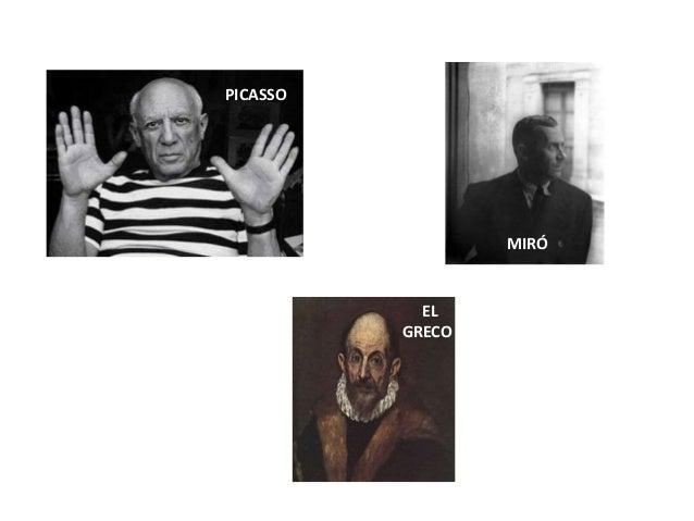 Algunos pintores famosos Slide 2