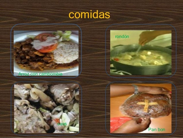 Algunos Platos Típicos De Panamá
