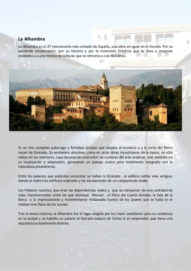 Presentacion sobre la alhambra de granada for Informacion sobre los arquitectos
