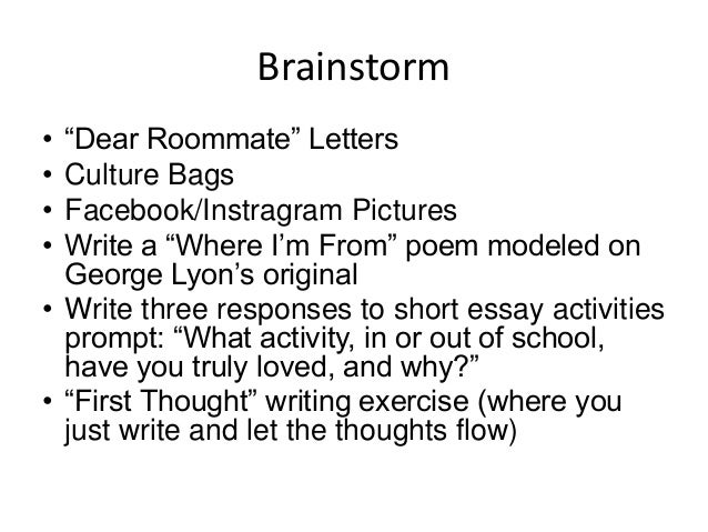 communicating their stories strategies to help students write powerf  brainstorm 17