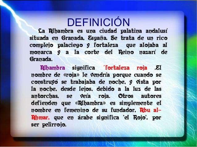 Alhambra presentación Slide 2