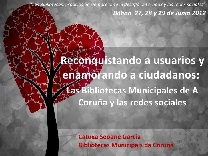 """""""Las Bibliotecas, espacios de siempre ante el desafío del e-book y las redes sociales""""                                    ..."""