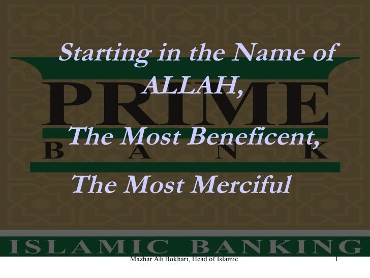 Starting in the Name of ALLAH,  The Most Beneficent,  The Most Merciful