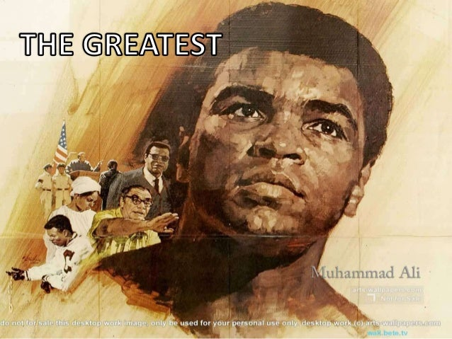 Mohammed Ali (Cassius Marcellus Clay, January 17, 1942, Louisville, USA) - American professional boxer, who spoke in heavy...