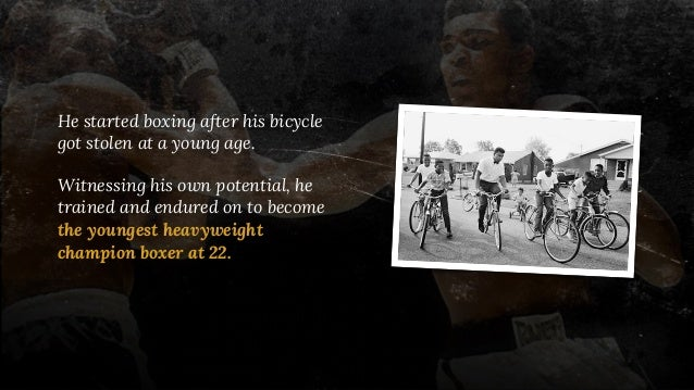 He started boxing after his bicycle got stolen at a young age. Witnessing his own potential, he trained and endured on to ...