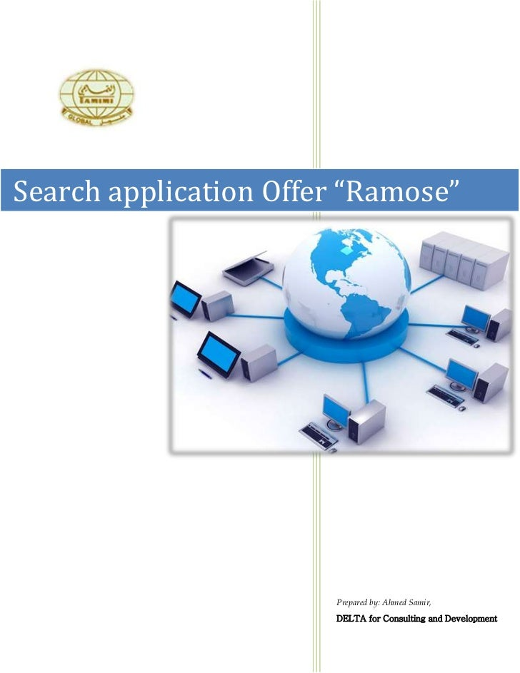 """Ramose                       Search                       EngineSearch application Offer """"Ramose""""                       Pr..."""
