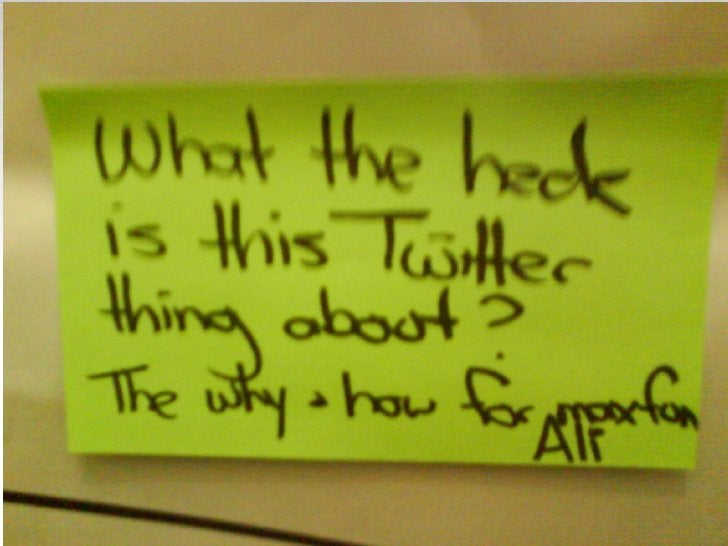 The Basic Idea    140 characters    What are you doing?    People you Follow    People who Follow you    Twitter in P...