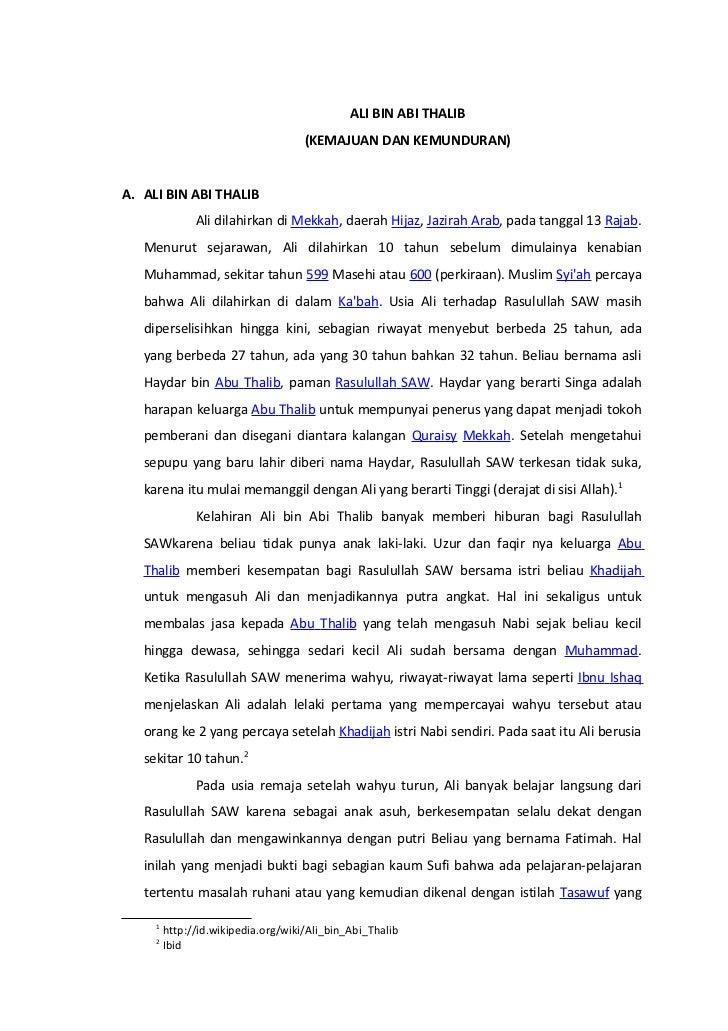 Hadits Ali Bin Abi Thalib Tentang Berharap Kepada Manusia 81