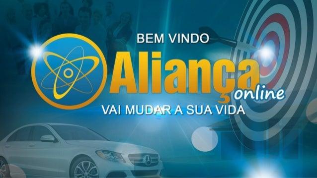 Aliança Online - Apresentação do Plano de Ganhos