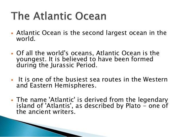 Atlantic Ocean Currents - Mahasagar name