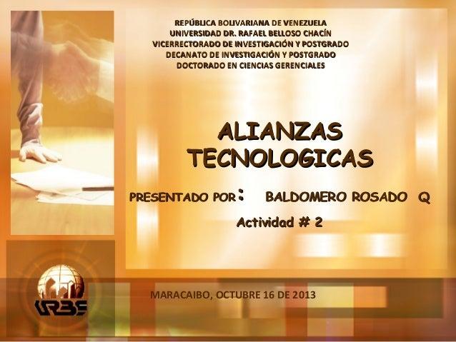 REPÚBLICA BOLIVARIANA DE VENEZUELA UNIVERSIDAD DR. RAFAEL BELLOSO CHACÍN VICERRECTORADO DE INVESTIGACIÓN Y POSTGRADO DECAN...
