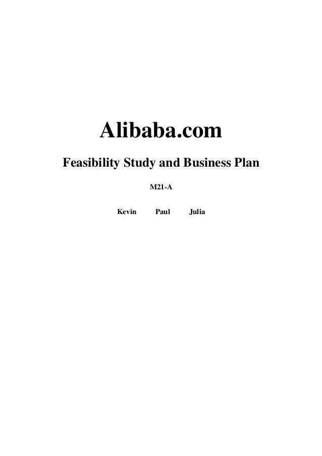 Alibaba.com Feasibility Study and Business Plan M21-A Kevin Paul Julia