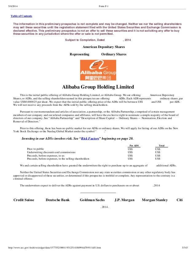 Alibaba ipo Slide 3
