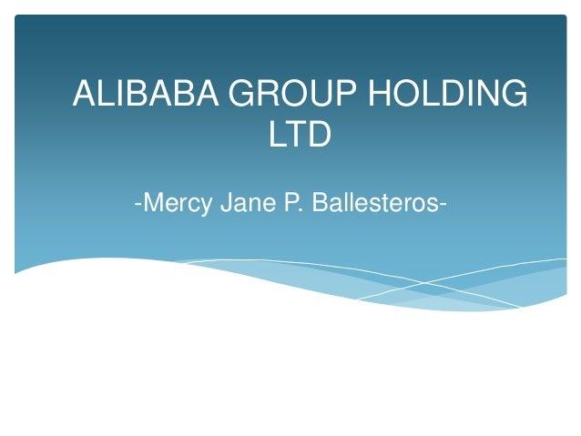 Alibaba Group Holding Ltd