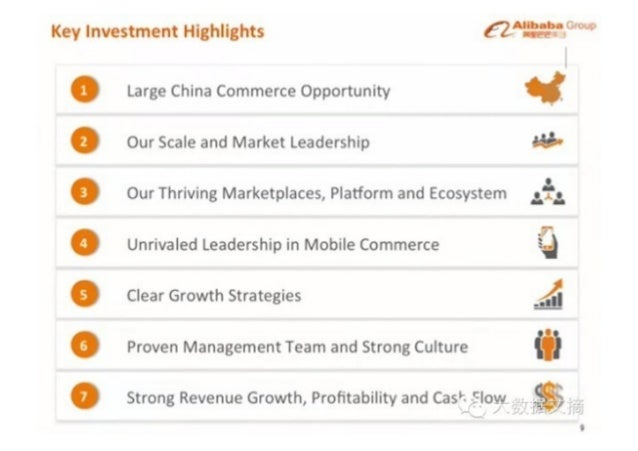 """Key Investment Highlights €Z""""""""""""""""""""""""' '  Large China Commerce Opportunity  Our Scale and Market Leadership 34:' Our Thriving..."""