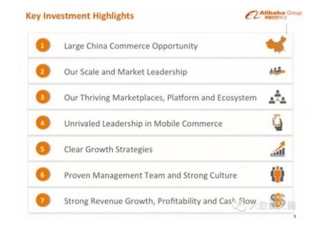 Alibaba ipo roadshow ppt