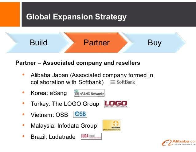 Global Expansion Strategy Build  Partner  Buy  Partner – Government collaboration  • Korea: KOTRA and SMBA • Turkey: IGE...