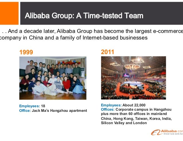 An E-commerce Ecosystem  Alibaba.com Limited (HK stock code: 1688)  Taobao One-stop platform for shopping, socializing and...