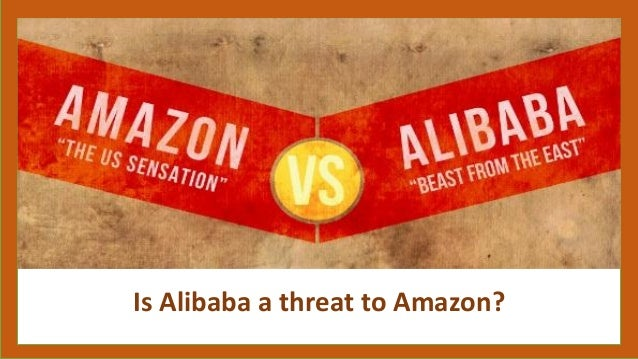 Is Alibaba a threat to Amazon?