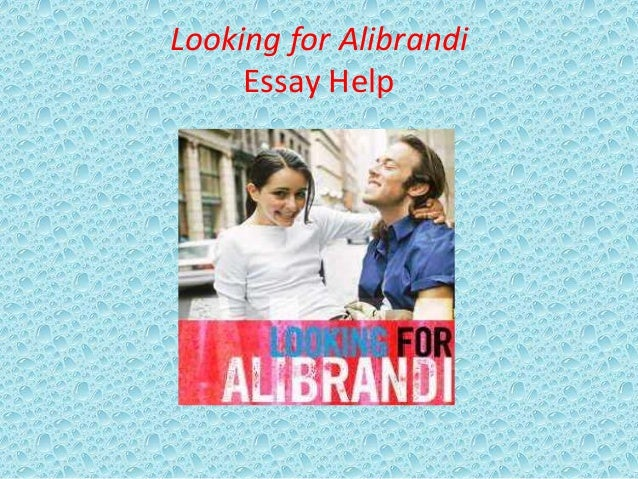 Looking alibrandi josie analysis essay