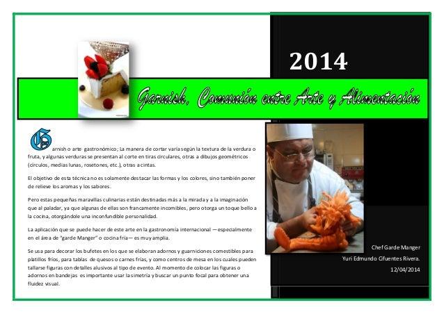 ABC Libro de Garnish o Arte Mukimono 2014